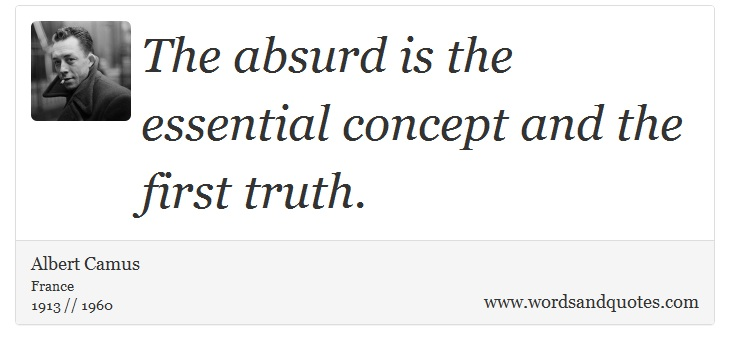 the absurd man camus essay