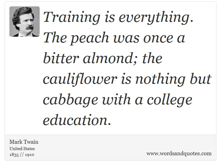 mark twain essay on education Mark twain (november 30, 1835 - april 21, 1910), real name samuel langhorne clemens, was an american writer, humorist, entrepreneur, publisher, and lecturer.